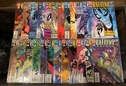 Picture of BATMAN BEYOND (1999) #1-24 SET VF/NM 2ND SERIES
