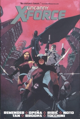 Picture of UNCANNY X-FORCE BY REMENDER OMNIBUS HC NEW PTG