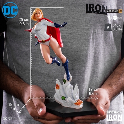 Picture of POWER GIRL 1:10 SCALE IRON STUDIOS STATUE