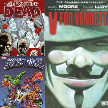 Graphic Novels & TPBs