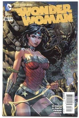 Picture of WONDER WOMAN #36 1:100 VARIANT COVER NM-