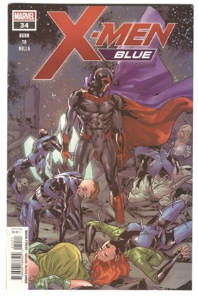 Picture of X-MEN BLUE #34 BUNN TO MILLA