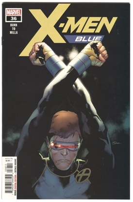 Picture of X-MEN BLUE #36 BUNN TO MILLA