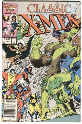 Picture of X-MEN CLASSIC (1986) #2 4.0 VG ART ADAMS COVER