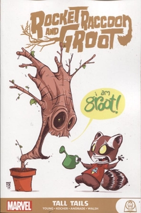 Picture of ROCKET RACCOON AND GROOT GN TP TALL TAILS