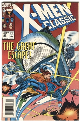Picture of X-MEN CLASSIC (1986) #86 6.0 FN MARVEL
