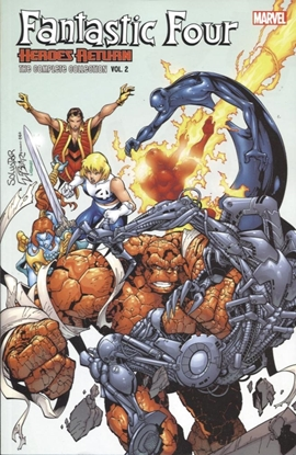 Picture of FANTASTIC FOUR COMPLETE COLLECTION TP VOL 02 HEROES RETURN