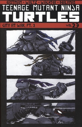 Picture of TMNT ONGOING TP VOL 23 CITY AT WAR PT 2 (C: 0-1-2)