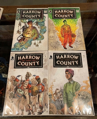 Picture of TALES FROM HARROW COUNTY DEATHS CHOIR (2019) #1-4 CVR A FRANQU SET NM