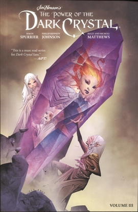 Picture of JIM HENSON POWER OF DARK CRYSTAL TPB VOL 3