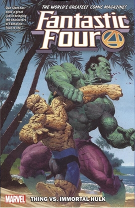 Picture of FANTASTIC FOUR TPB VOL 4 THING VS IMMORTAL HULK