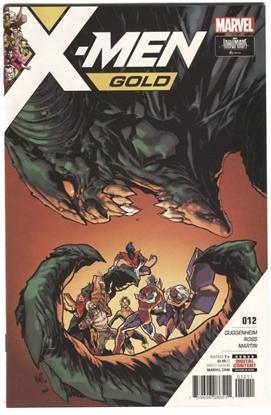 Picture of X-MEN GOLD #12 GUGGENHEIM LASHLEY MARTIN SYAF