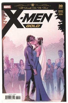 Picture of X-MEN GOLD #30 2ND PTG MARQUEZ VARIANT 'TIL DEATH DO US PART FINALE