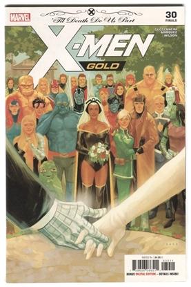 Picture of X-MEN GOLD #30 'TIL DEATH DO US PART FINALE