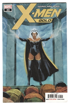 Picture of X-MEN GOLD #33 GUGGENHEIM BANDINI ARCINIEGA