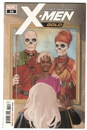 Picture of X-MEN GOLD #34