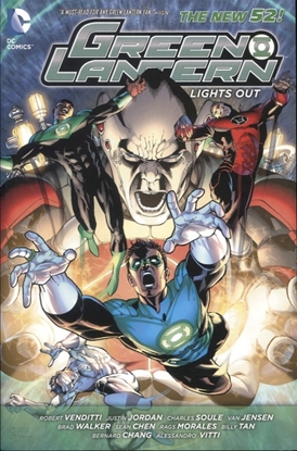Picture of GREEN LANTERN LIGHTS OUT HC (N52)