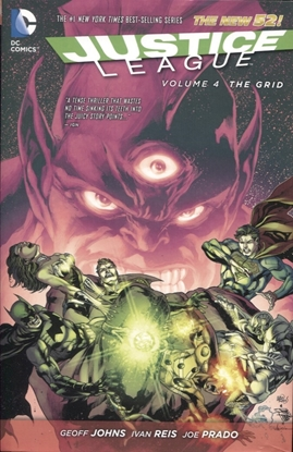 Picture of JUSTICE LEAGUE HC VOL 04 THE GRID (N52)