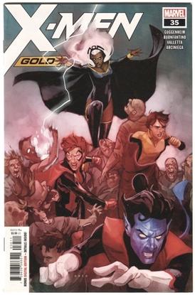 Picture of X-MEN GOLD #35 GUGGENHEIM BUONFANTINO VALLETTA ARCINIEGA