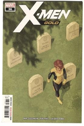 Picture of X-MEN GOLD #36 GUGGENHEIM PEREZ RAMOS