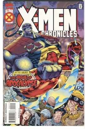 Picture of X-MEN CHRONICLES (1995) #2 9.6 NM+ AFTER XAVIER AGE OF APOCALYPSE