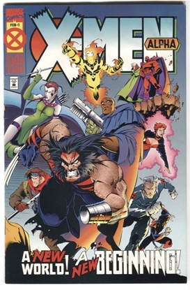 Picture of X-MEN ALPHA #1 6.0 FN