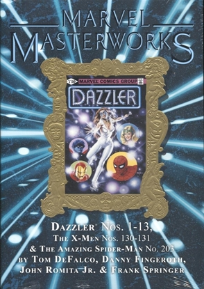 Picture of MARVEL MASTERWORKS DAZZLER HC VOL 1 DM GOLD VARIANT EDITION 288