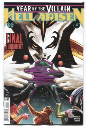 Picture of YEAR OF THE VILLAIN HELL ARISEN #4 (MISCUT) VF/NM
