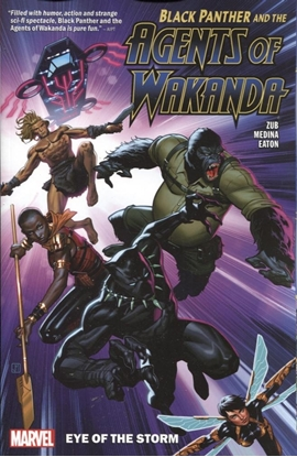 Picture of BLACK PANTHER AGENTS OF WAKANDA TPB VOL 1 EYE OF THE STORM