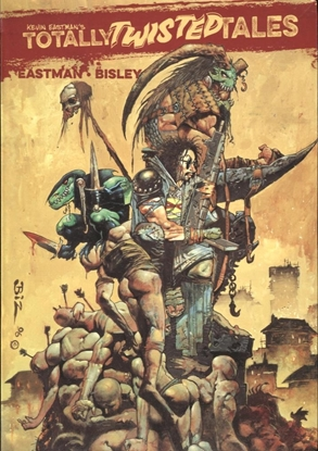 Picture of KEVIN EASTMAN TOTALLY TWISTED TALES TPB VOL 1 CVR B BISLEY