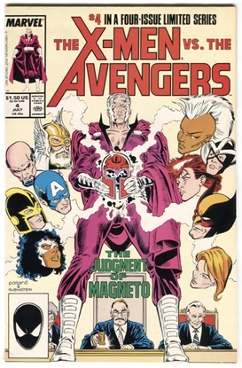 Picture of X-MEN VS AVENGERS (1987) #4 8.0 VF