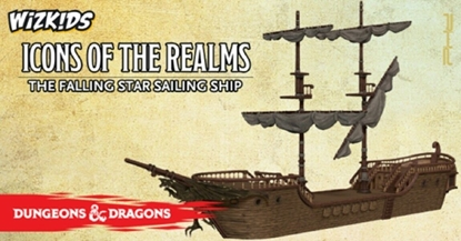 Picture of WIZKIDS DUNGEONS & DRAGONS ICONS OF THE REALMS  THE FALLING STAR MINIATURE SHIP