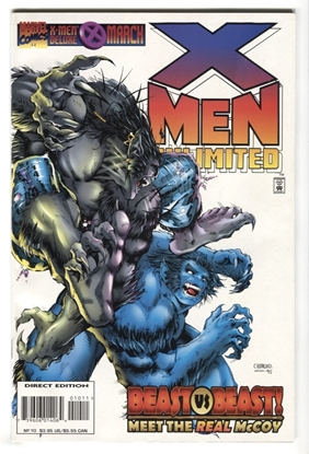 Picture of X-MEN UNLIMITED (1993) #10 9.4 NM