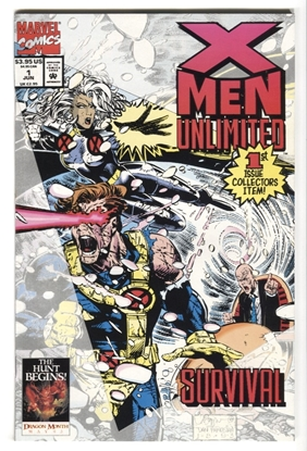 Picture of X-MEN UNLIMITED (1993) #1 9.4 NM