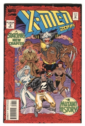Picture of X-MEN 2099 (1993) #8 9.4 NM