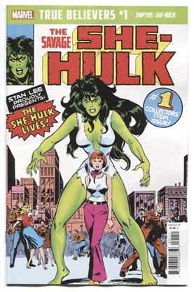 Picture of TRUE BELIEVERS EMPYRE SHE-HULK #1