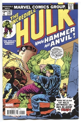 Picture of INCREDIBLE HULK #182 FACSIMILE EDITION