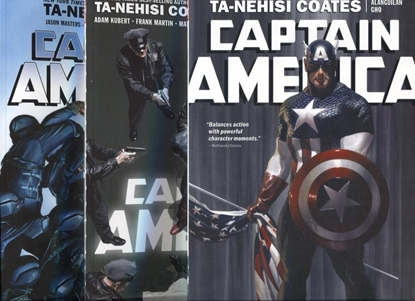 Picture of CAPTAIN AMERICA (2018) BY TA-NEHISI COATES VOL 1 2 3 TPB SET