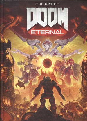 Picture of ART OF DOOM ETERNAL HC