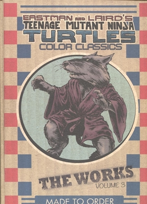 Picture of TMNT COLOR CLASSICS WORKS HC VOL 3
