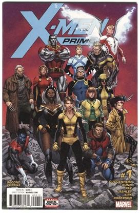 Picture of X-MEN PRIME #1 2ND PRINTING GUGGENHEIM BUNN PAK LASHLEY KIRK ROBERSON