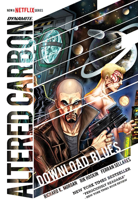 Picture of ALTERED CARBON DOWNLOAD BLUES HC