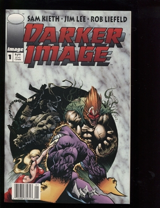 Picture of DARKER IMAGE (1993) #1 9.4 NM