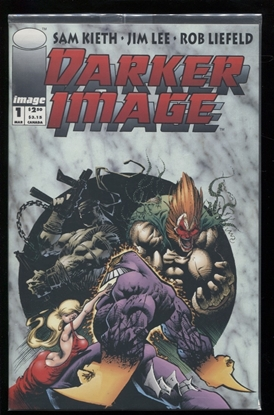 Picture of DARKER IMAGE (1993) #1 BAGGED ED 9.4 NM