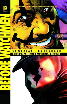 Picture of BEFORE WATCHMEN COMEDIAN RORSCHACH TPB