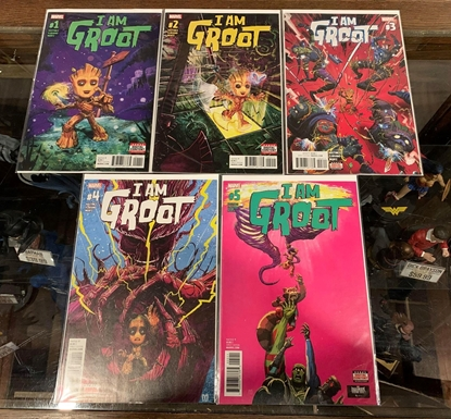Picture of I AM GROOT (2017) #1-5 1ST PRINT SET NM