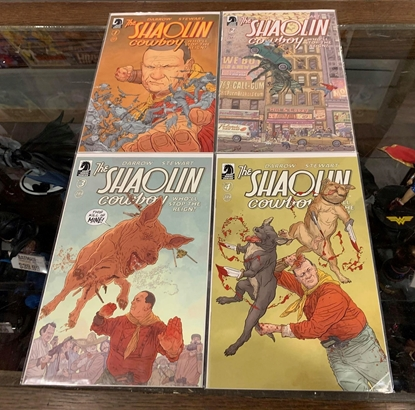 Picture of SHAOLIN COWBOY WHOLL STOP THE REIGN (2017) #1-4 1ST PRINT SET NM