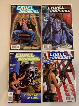 Picture of CRUEL AND UNUSUAL(1999) #1-4 SET VF/NM