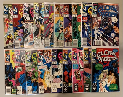 Picture of CLOAK AND DAGGER (1988) #1-19 SET VF/NM