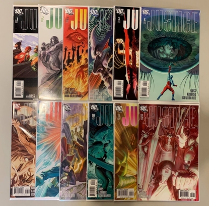 Picture of JUSTICE (2005) #1-12 SET NM-